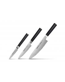 Набор из 3 кухонных ножей SAMURA Mo-V (SM-0230)