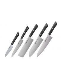 Набор из 5 ножей Samura Harakiri SHR-0250B