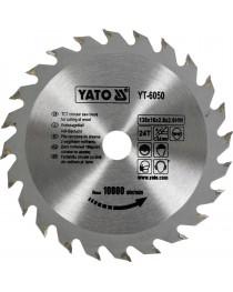 Профессиональный пильный диск по дереву Yato YT-6065