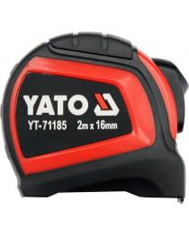 Рулетка YATO с нейлоновым покрытием 2 м х 16 мм (YT-71185)