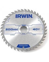 Пыльный диск IRWIN Circular Saw Blade 190x 30mm x 40