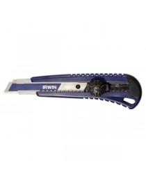 Нож Irwin с сегментным лезвием и винтовым зажимом 18 мм (10508135)