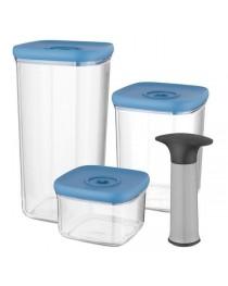 Набор контейнеров с вакуумной системой хранения Berghoff LEO 3950128