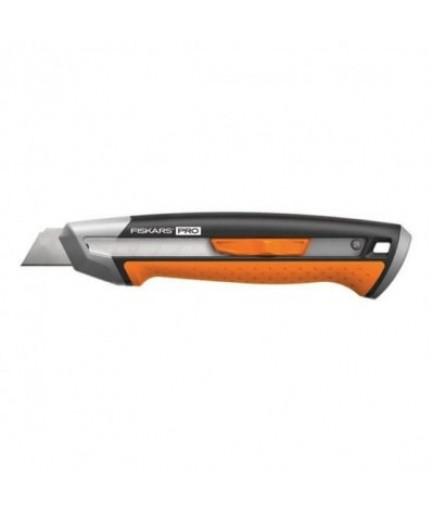 Нож с выдвижным лезвием Fiskars Pro CarbonMax 18 мм (1027227)