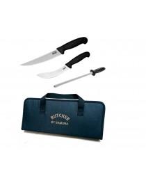 Набор из 3 ножей Samura Butcher + сумка (SBU-0230)