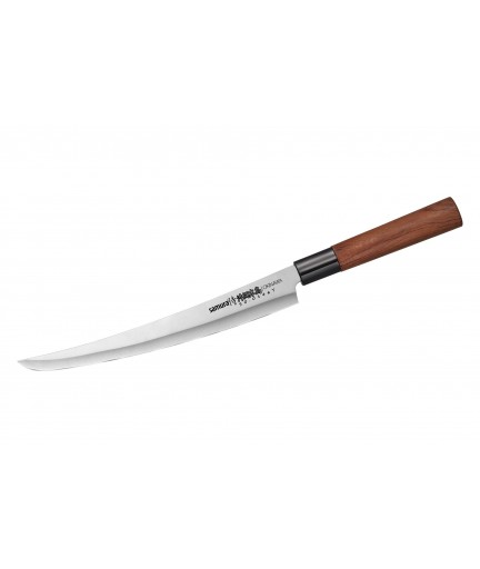 "Нож кухонный ""Samura OKINAWA"" для нарезки, слайсер Tanto 230 мм (SO-0146T)"