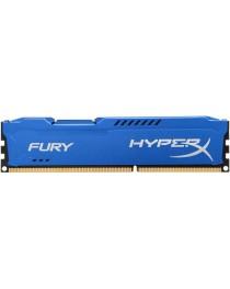 Оперативная память DDR3 Kingston HyperX Fury Blue 4GB 1600MHz CL10 1.5V HX316C10F/4