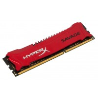 Оперативная память DDR3 Kingston HyperX Savage Red 8GB (2x4GB) 1600MHz CL9, PC312800 HX316C9SRK2/8