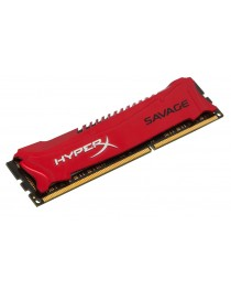 Оперативная память DDR3 Kingston HyperX Savage Red 8GB (2x4GB) 1600MHz CL9, PC312800 HX316C9SRK2/8