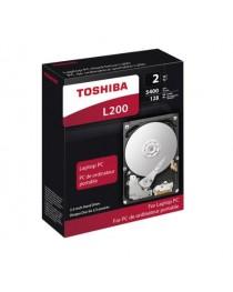 "Жесткий диск HDD 2.5"" 2Tb SATA-III Toshiba L200 [HDWL120EZSTA, 5400rpm, 128Mb]"
