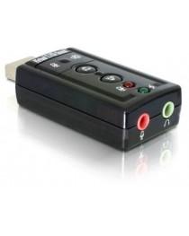 Звуковая карта Delock USB 7.1 (virtual) USB 2.0