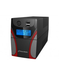 Power Walker UPS Line-Interactive 850VA , RJ11 IN/OUT, USB, LCD, 2X USB Charger (VI 850 GX FR)