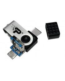 USB флеш накопитель Patriot 128ГБ 3 В 1 USB 3.1 тип А PEF128GTRI3USB