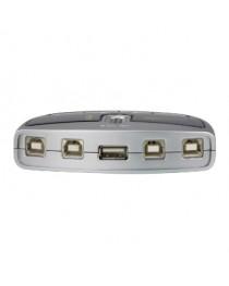 KVM-переключатель ATEN Switch 4/1 USB-2.0 (US421A-A7)