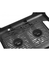 Подставка под ноутбук TRACER 2 вентилятора TRASTA44452