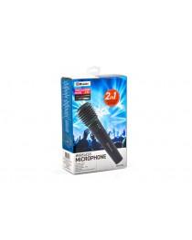 Беспроводной микрофон Vakoss MAK475K, пластик, черный
