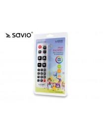 Универсальный пульт для телевизора SAVIO RC-04 KIDS, большие кнопки