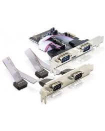 4 x последовательная карта PCI Express Delock (89178)