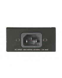 1-портовый гигабитный Zyxel POE12-HP  802.3af / на инжектор PoE (30 Вт) (POE12-HP-EU0102F)