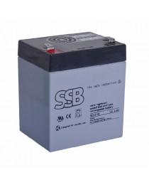 Аккумулятор SSB 12V / 5Ah - faston 6,3 мм SB 5-12L
