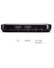 Видео граббер AVerMedia Live Gamer Портативный Lite, 1080p, USB, HDMI 61GL3100A0AD