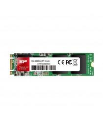 Твердотельный накопитель Silicon Power SSD A55 128 ГБ, M.2 SATA, 550/420 МБ / с SP128GBSS3A55M28
