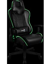 Игровое кресло Aerocool AC-220 AIR RGB / BLACK AEROAC-220-AIR-RGB