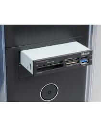 Кардридер Akasa 3.5'' 6-slot multi card reader AK-ICR-14, USB 3.0 (AK-ICR-14)