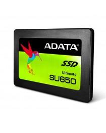 SSD ADATA Ultimate SU650 960 ГБ SATA3 (чтение / запись) 520/450 МБ / с, цветная коробка