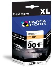 Чернила Black Point | Черный | 22 мл | HP CC653AE ( BPH901XL)