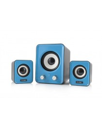 LOGIC Speakers LS-20 blue [ 2.1]