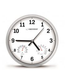 Настенные часы - белый esperanza ehc016w lyon (EHC016W - 5901299930083)