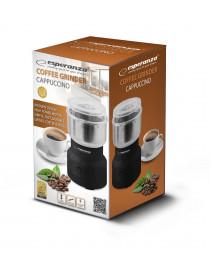 Кофемолка ESPERANZA CAPPUCCINO EKC007K BLACK