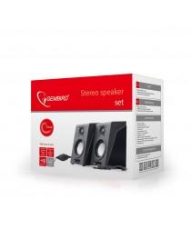 Колонки Gembird Desktop Multimedia Stereo Speakers set 2.0 ''Breeze'', RMS 6W, black