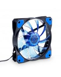 Вентилятор Akyga System 15 LED синий AW-12C-BL Molex / 3-контактный, 120x120 мм
