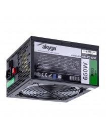 Блок питания Akyga Pro ATX 650 Вт AK-P3-650 RGB Вентилятор 12см P8 5xSATA 2xPCI-E