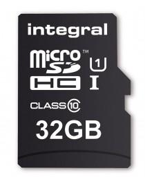 Карта памяти Integral Smartphone&Tablet microSDHC/XC + OTG Reader UHS-I 32GB Up To 90MB/s (INMSDH32G10-SPTOTGR)
