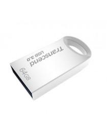 USB флеш накопитель Transcend memory USB Jetflash 710s, 64 ГБ (серебристый), USB 3.0, водонепроницаемый / ударопрочный TS64GJF710S