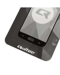 Протектор экрана из закаленного стекла для Huawei P10 Lite 5D Qoltec black 51123