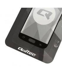 Протектор экрана из закаленного стекла Qoltec для iPhone XR Black 6D полностью покрытый 51189