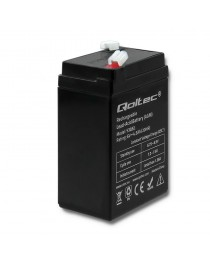 Аккумулятор AGM Qoltec  | 6 В | 4,5 Ач | Максимум. 1.35A 53032