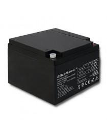 Аккумулятор AGM Qoltec  | 12 В | 24Ач | max.7.2A 53036
