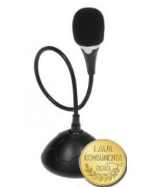 Высококачественный мини настольный микрофон с кнопкой включения / выключения Media-Tech MT392