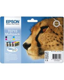 Набор Epson T0715 CMYK MultiPack DURABrite | Stylus D78 / 92/120/120 (C13T07154012)
