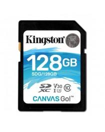 Карта памяти Kingston 128GB SDXC class 10 UHS-I U3 (SDG/128GB)
