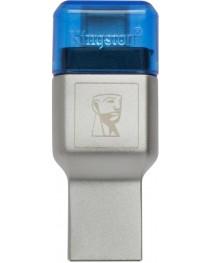 Кардридер Kingston MobileLite DUO 3C USB3.1+TypeC microSDHC/SDXC (FCR-ML3C)