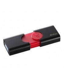 USB флеш накопитель Kingston 64 ГБ USB 3.0 DataTraveler 106 (чтение 100 МБ / с) DT106/64GB